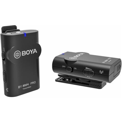 Фото - Беспроводная микрофонная система Boya BY-WM4 PRO накамерный микрофон boya by pvm50