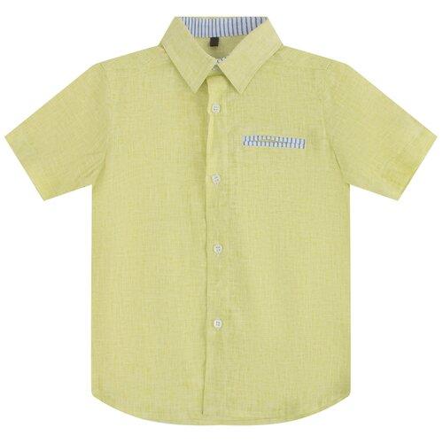 Рубашка Leader Kids размер 98, желтый