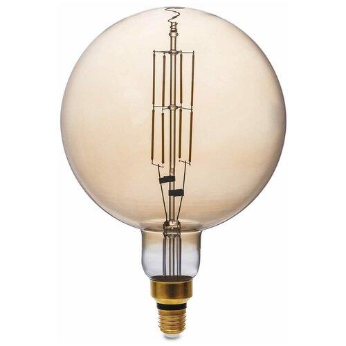 Лампа светодиодная филаментная Thomson E27 8W 1800K шар прозрачная TH-B2175 лампа thomson светодиодная филаментная e27 4w 1800k цилиндр прозрачная th b2199