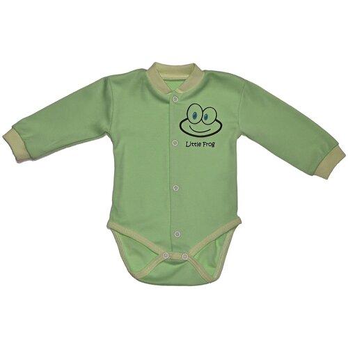 Фото - Боди My fashion Little Froggy размер 74, зелeный боди little fox размер 74 белый