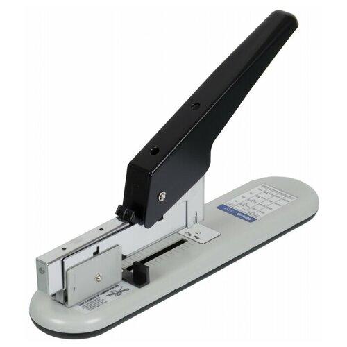 KW-triO Степлер 50SB для скоб №23/6-23/13 серый/черный