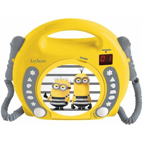 Lexibook CD-проигрыватель с микрофонами. Миньоны - Гадкий Я