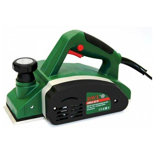 Фото - Электрорубанок DWT HB02-82 B зеленый/черный электрорубанок status pl 82 sp зеленый черный