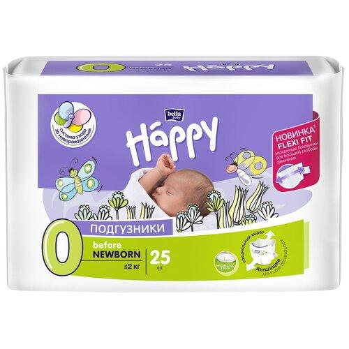 Bella Baby happy подгузники before newborn 0 (0-2 кг), 25 шт.