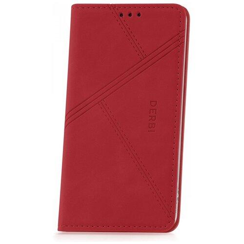 Чехол на Samsung Galaxy S8 Derbi Open Book-5 Red