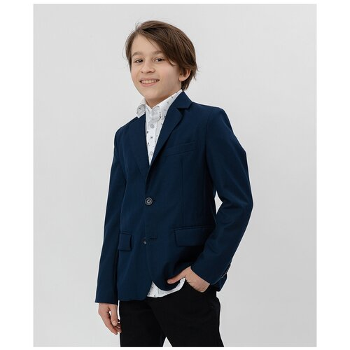 Фото - Пиджак Button Blue размер 164, синий button blue пиджак button blue