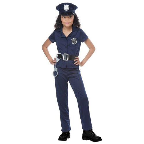 Фото - Костюм California Costumes Милый полицейский 00545, синий, размер L (10-12 лет) костюм авангард 001160 l синий
