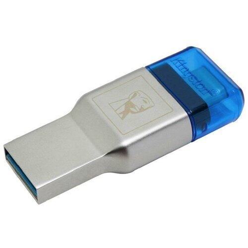 Картридер Kingston MobileLite Duo 3C (FCR-ML3C) серебристый 1 шт.