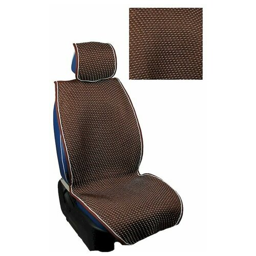 Накидки на сиденья, плетеные, Classic New Plus комплект, Коричневый, CNP012
