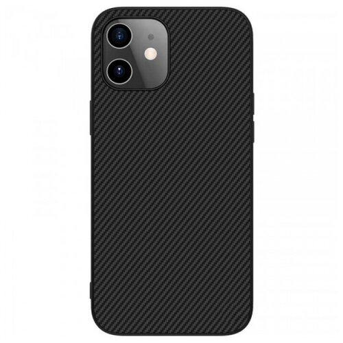 Nillkin Synthetic Fiber Чехол с карбоновой текстурой для iPhone 12 Mini чехол для iphone 7 plus nillkin synthetic fiber черный
