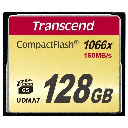 Фото - Карта памяти 128 ГБ CompactFlash (CF) Transcend CompactFlash X1000 (TS128GCF1000) 1 шт. карта памяти 32gb transcend cf 400x