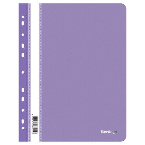 Berlingo Папка-скоросшиватель с прозрачным верхом А4, пластик 180 мкм (ASp_042), 10 шт фиолетовый