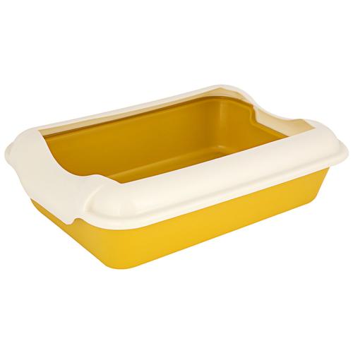 Фото - HOMECAT туалет для кошек Бюджет с бортиком желтый 37*27*115см HOMECAT туалет д/к Бюджет с бортиком желтый 37*27*115см туалет trixie с бортиком для кошек 45х29х54см 40371