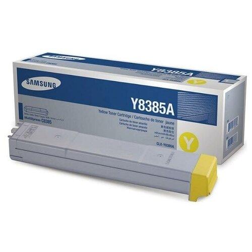 Фото - HP CLX-Y8385A (SU633A) Тонер-картридж оригинальный желтый Yellow 15К для CLX-8385ND CLX-8385 картридж hp clx k8385a для samsung clx 8385n clx 8385nd 20000 черный