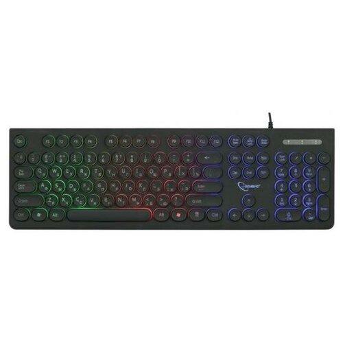 Клавиатура проводная Gembird KB-240L USB черный