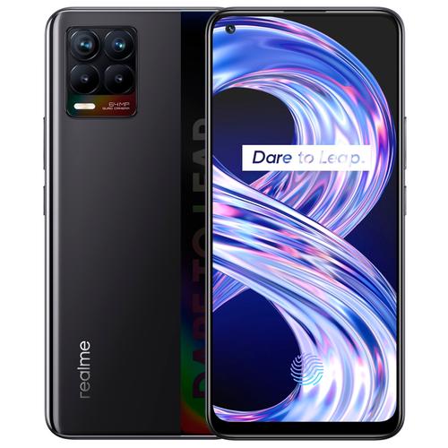 Смартфон realme 8 6/128GB RU, Cyber Black