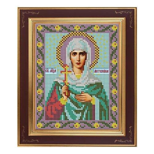 Набор для вышивания бисером Икона Св. Антонина GALLA COLLECTION М243