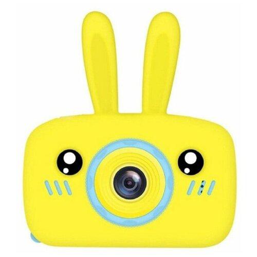 Фото - Детский фотоаппарат Зайчик Желтый / Kids Camera Rabbit Yellow детский цифровой фотоаппарат собачка розовый kids camera pink