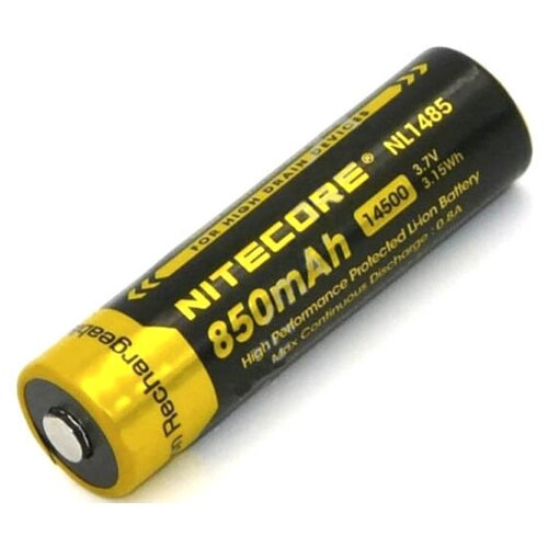 Фото - Аккумулятор 14500 - Nitecore NL1485 Li-Ion 850mAh 9972 аккумулятор nitecore nl1665r