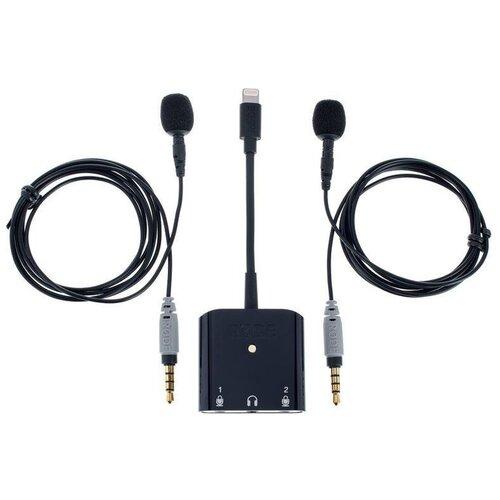 Комплект микрофонов RODE SC6-L Mobile Interview Kit, черный