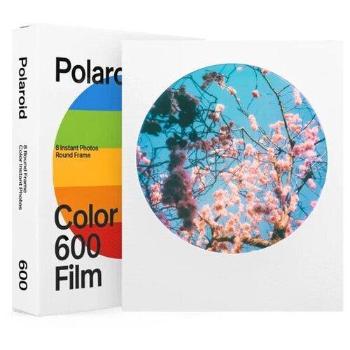 Фото - Картридж Polaroid Color Film Round Frame 600, 8 кадров картридж polaroid duochrome film 600 black