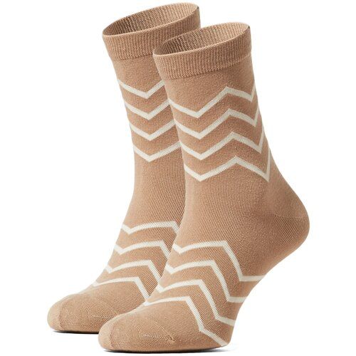 Носки Красная Жара (коричнево-серый; белый) 36-40