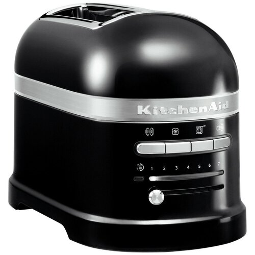Фото - Тостер KitchenAid 5KMT2204EOB, черный тостер kitchenaid 5kmt2204efp морозный жемчуг