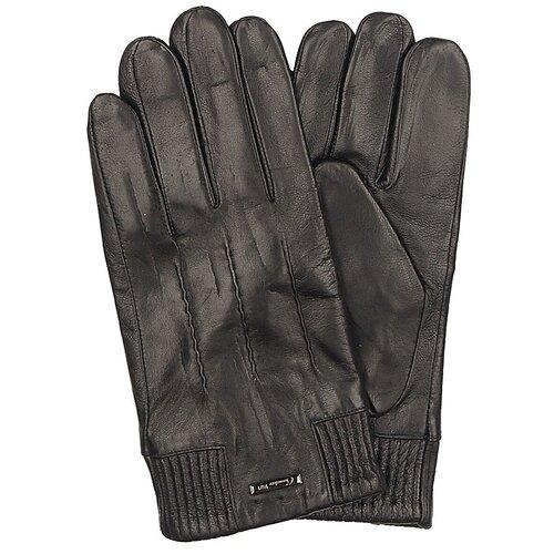 Перчатки Мужские / Натуральная кожа / Подклад Натуральная шерсть / Chansler / Черный / ART186 / Размер 10