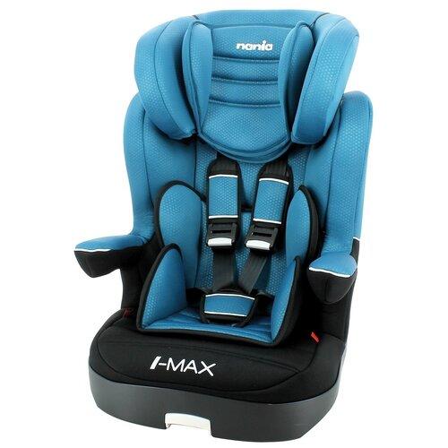 Автокресло группа 1/2/3 (9-36 кг) Nania I-Max SP Luxe, blue автокресло группа 0 1 до 18 кг nania driver colors blue