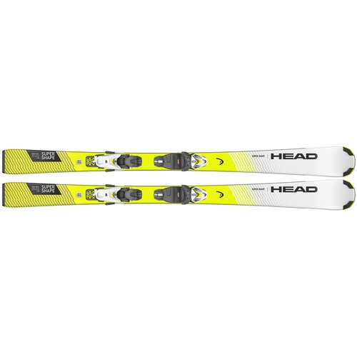 Горные лыжи детские с креплениями HEAD Supershape SLR Pro (20/21), 110 см