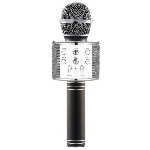 Беспроводной караоке-микрофон WS-858 (темное золото)