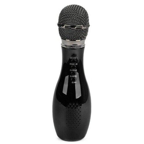 Беспроводной караоке-микрофон Q007 (черный)