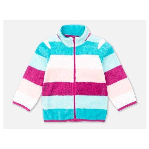 Фото - Олимпийка playToday размер 74, розовый/светло-розовый/белый/голубой олимпийка playtoday размер 122 черный белый