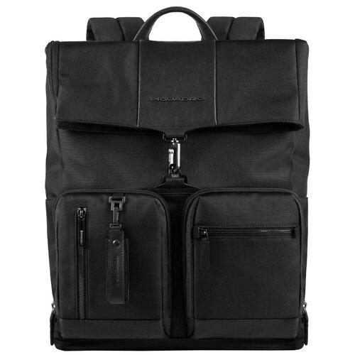 Рюкзак PIQUADRO CA4533BR черный рюкзак piquadro ca4443br черный
