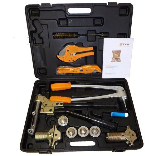 Комплект гидравлического инструмента для трубы и аксиальных фитингов PEX TIM FT-1240B