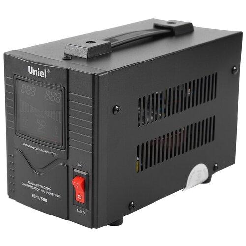 Стабилизатор напряжения однофазный Uniel RS-1/500 черный