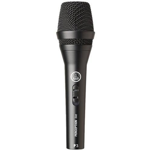 Микрофон AKG P3 S, черный