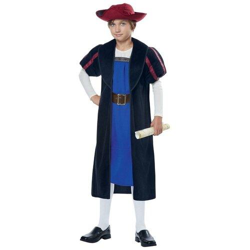 Фото - Костюм California Costumes Христофор Колумб 00360, черный/синий, размер L (10-12 лет) костюм авангард 001160 l синий