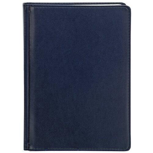 ежедневник датированный 2018 index agent кожзам линия а5 168 листов коричневый Ежедневник Index Avanti недатированный, искусственная кожа, А5, 168 листов, синий