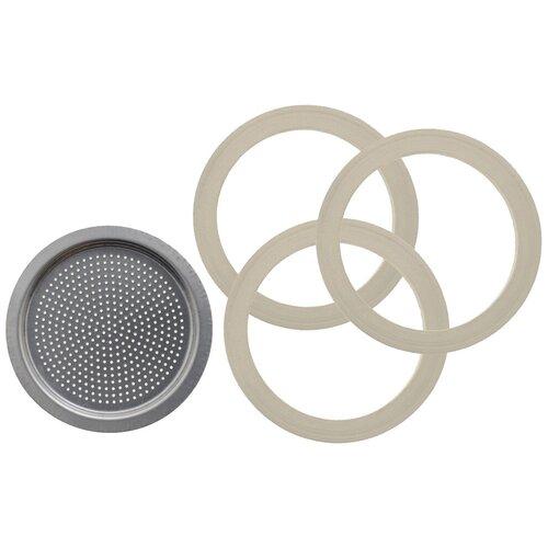Фильтр для гейзерной кофеварки Bialetti 0800402, серебристый