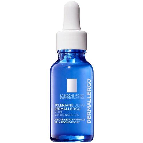 La Roche-Posay Toleriane Ultra Dermallegro Успокаивающая увлажняющая сыворотка для кожи лица и области вокруг глаз для сверхчувствительной и склонной к аллергии кожи, 20 мл
