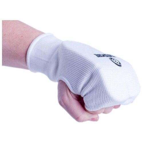 Фото - Накладки на руки для единоборств BS, трикотаж/пена BS-з23 (белый, р. L) носки balaclava bs белый 36 38