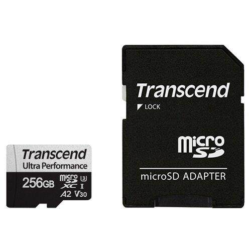 Фото - Карта памяти 256Gb - Transcend MicroSDXC 340S Class 10 UHS-I карта памяти sdhc 32gb transcend class10 uhs i