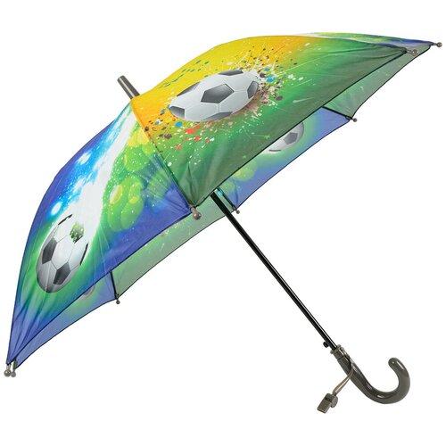 Зонт-трость полуавтомат детский Rain Lucky 915-4 LACN со свистком