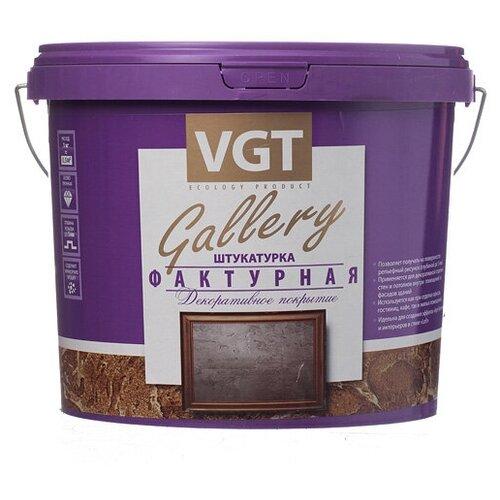 Декоративное покрытие VGT Фактурная белый 9 кг