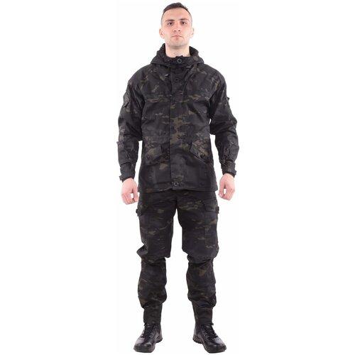 Костюм KE Tactical Горка-3 рип-стоп multicam black 170 – 176 40-42 костюм ke tactical горка мембрана на флисе multicam 170 – 176 52 54