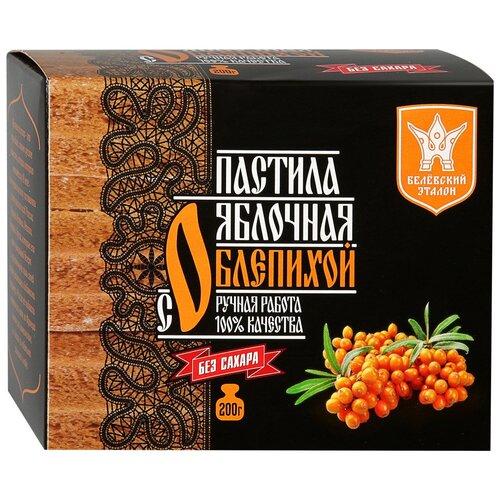 Пастила Белёвский эталон Яблочная с облепихой, 200 г