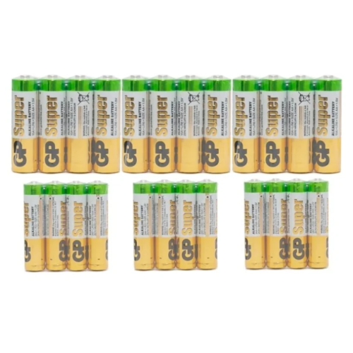 Фото - Батарейка GP Super Alkaline AA + AAA, 4 шт., 6 уп. батарейка gp super alkaline aa 4 шт