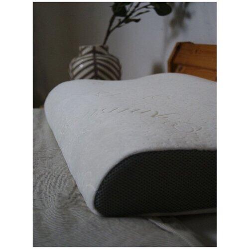 ASVETIDA Velour Antistress ERGO 60х40х10/12 Ортопедическая подушка с эффектом памяти