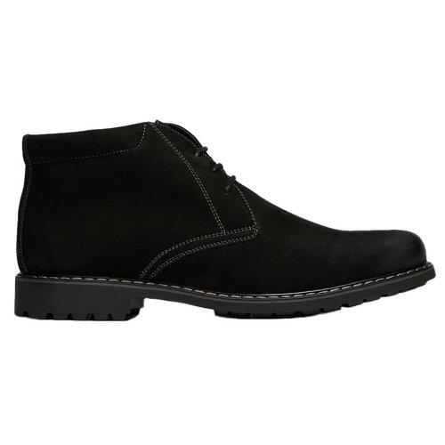 Ботинки дезерты RALF RINGER Karlos , размер 40 , черный